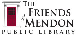 logo for The Friends of Mendon Public Library