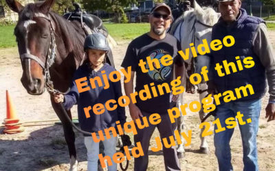 Video now available! – Horses, Writing, and Life: Virtual Program with Award Winning Author G. Neri and Director of A Horse's Friend, Matthew Doward
